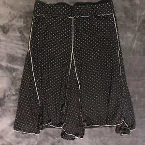 Max Studio black skirt size small